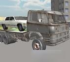 3D Araba Taşıma Kamyonu