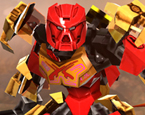 3D Biyonik Savaşçı Legolar