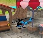 3D Küçük Helikopter