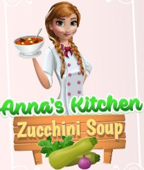 Anna Kabak Çorbası Yapıyor