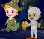 Hazel Bebek Cadılar Bayramında