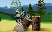 Ormanlık Yolda Sürüş