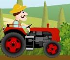 Traktör ile Meyve Sebze Taşı 2