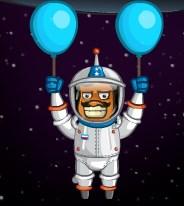 Uçan Amigo Uzayda
